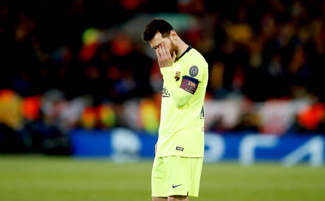 Lionel Messi Has Missed Out On The Number 1 Spot. Credit: PA
