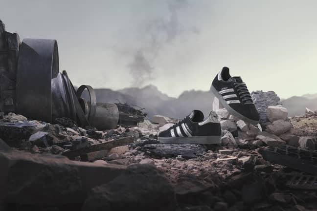 Gazelle Darksaber. Credit: Adidas
