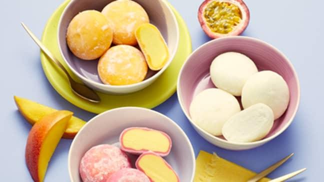 Aldi is now selling mochi ice-cream balls for £3.50 ' Credit: Aldi