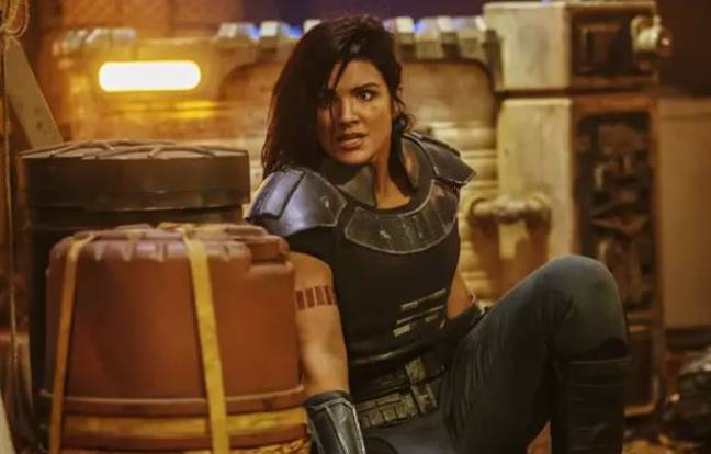 Gina Carano was sacked from The Mandalorian for an offensive Instagram post. Credit: Disney