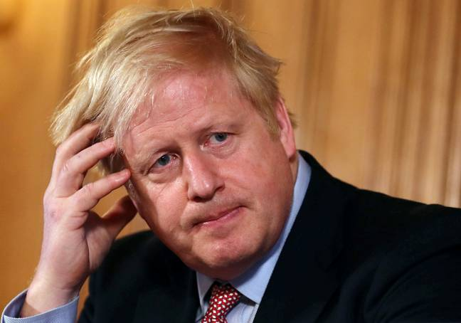 Prime Minister Boris Johnson speaking at a news conference inside 10 Downing Street, London, after the latest COBRA meeting. Credit: PA