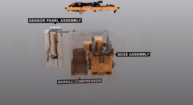 Illustration of the MOXIE instrument. Credit: NASA/JPL-Caltech