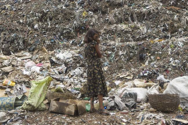Pollution and rubbish is rife across India