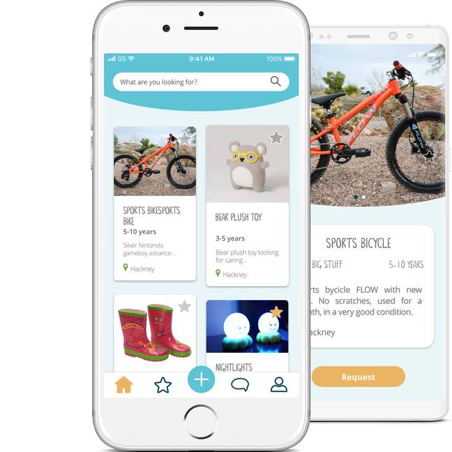 The app can be used to pick up free gifts this Christmas. Credit: YoungPlanet