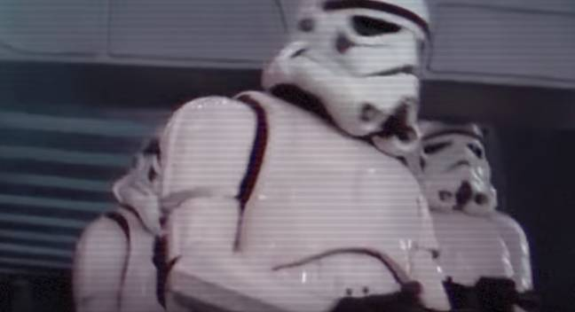 Who was this clumsy stormtrooper? That is the question. Credit: 20th Century Fox