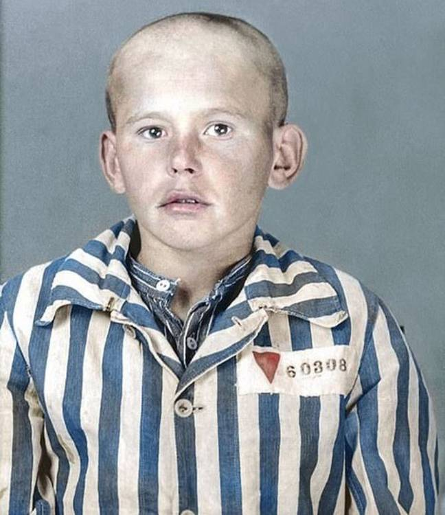 Iwan was murdered after having a phenol injection into his heart. Credit: https://facesofauschwitz.com/
