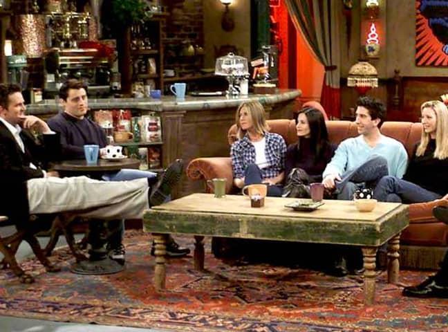 The original Central Perk set. Credit: Warner Bros. / Friends