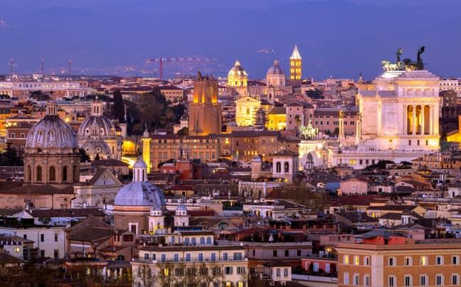 Stock image of Rome. Credit: Alamy