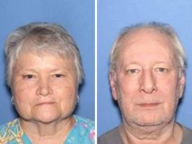 Patricia Hill and husband Frank Hill. Credit: Jefferson County Sheriff's Office