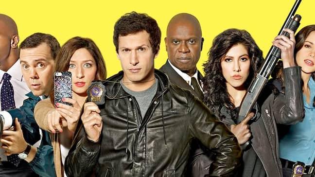 The cast of 'Brooklyn Nine Nine'. Credit: NBC