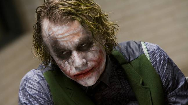 Heath's portrayal as the crazed clown has gone down in movie history as one of the most iconic villains ever. Credit: Warner Bros