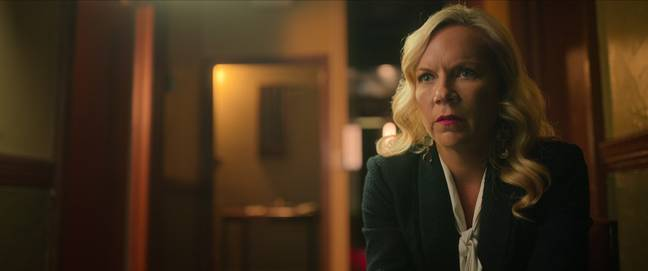 Amy Price, General Manager of the Cecil Hotel. Credit: Netflix