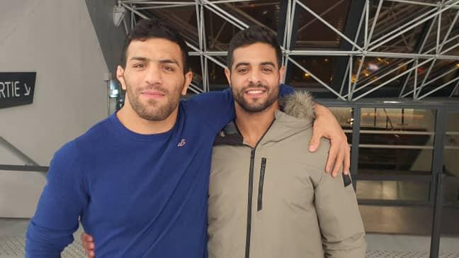 Saeid Mollaei and Sagi Muki have since become friends. Credit: International Judo Federation