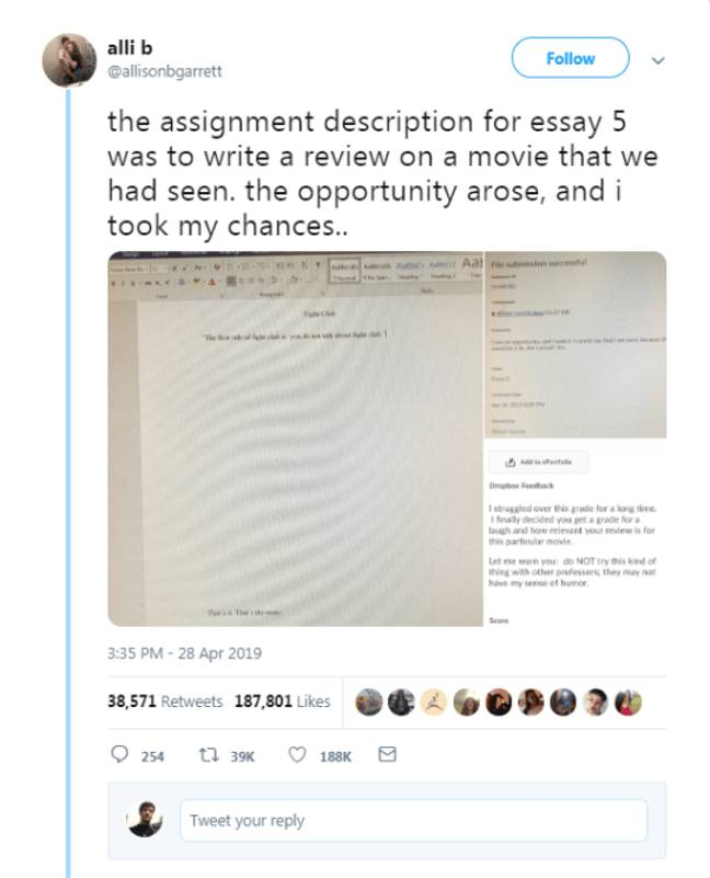 19-Word Essay Bags Student Highest Mark, Here's How He Did It
