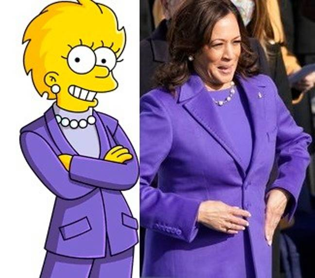 Some have joked that The Simpsons predicted Kamala Harris becoming Vice President. Credit: Fox/PA