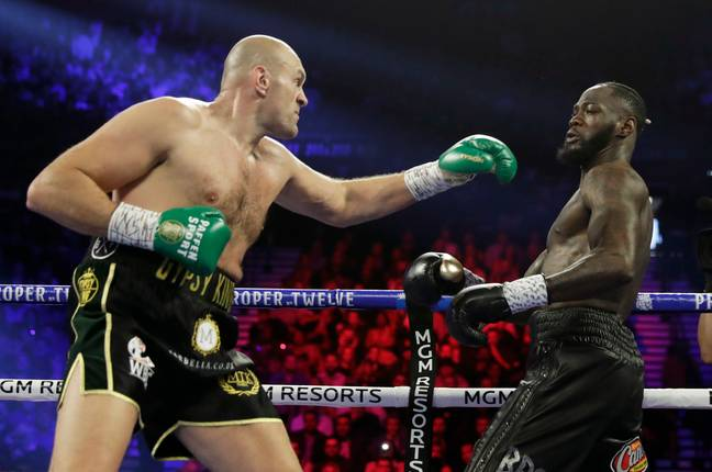Fury dominated throughout. Image: PA Images