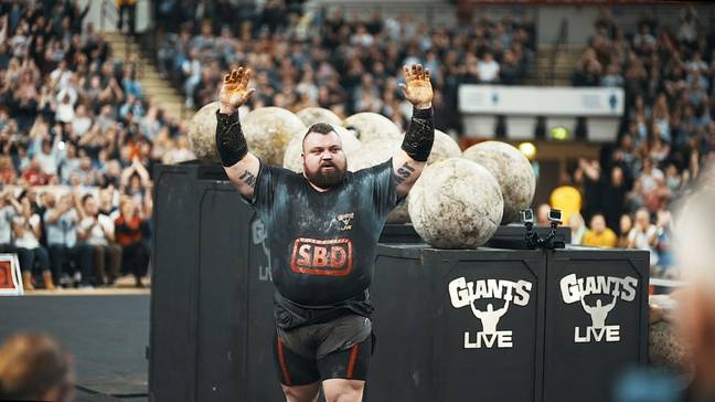 Eddie Hall was named the World's Strongest Man in 2017