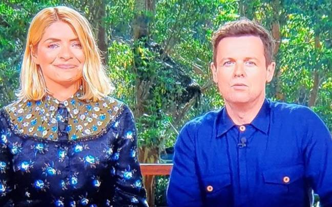 People Couldn't Stop Looking At Dec's Nipples On 'I'm A Celeb'. Credit: ITV