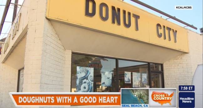 People Rush To Donut City Every Day. Credit: CNN