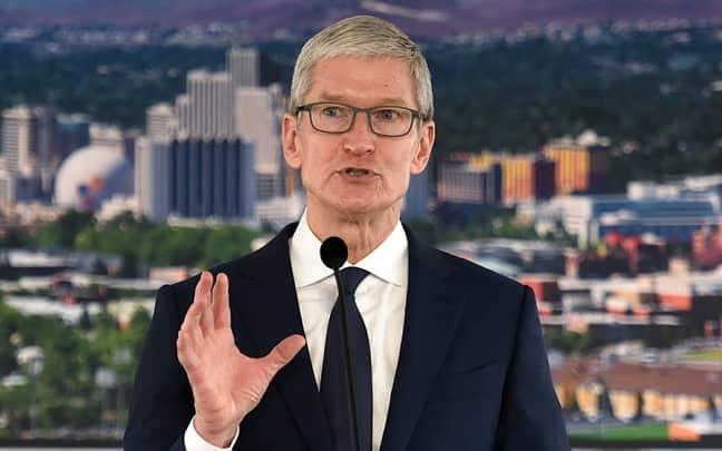 Apple CEO Tim Cook. Credit: PA
