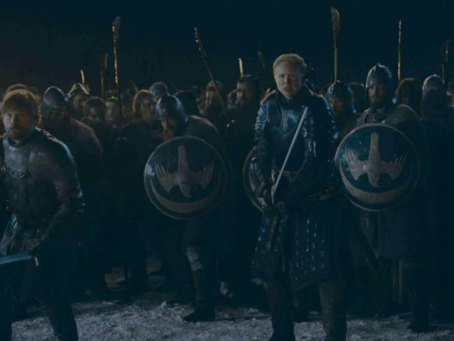 Jaime and Brienne lead the charge. Credit: HBO