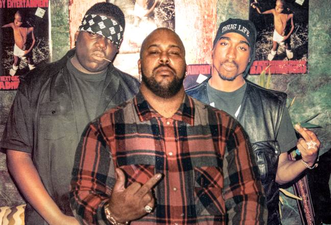 Suge Knight is said to have organised the murders of both Tupac and Biggie. Credit: Dogwoof