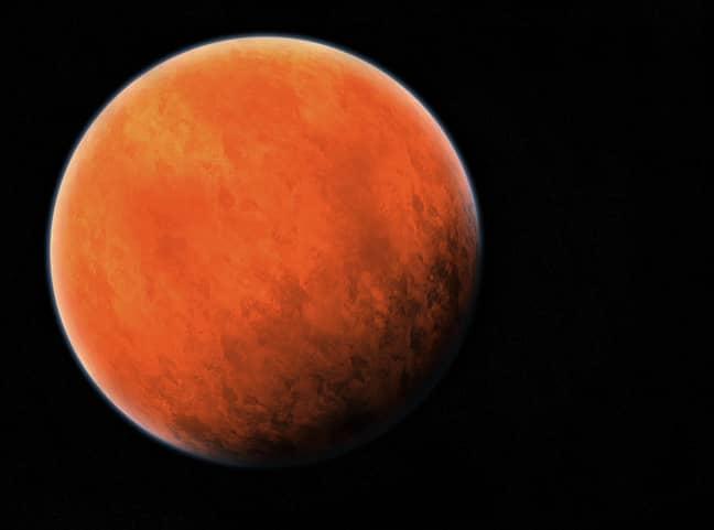 Mars. Credit: PA