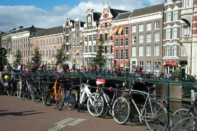 Amsterdam, the Dutch capital. Credit: PA