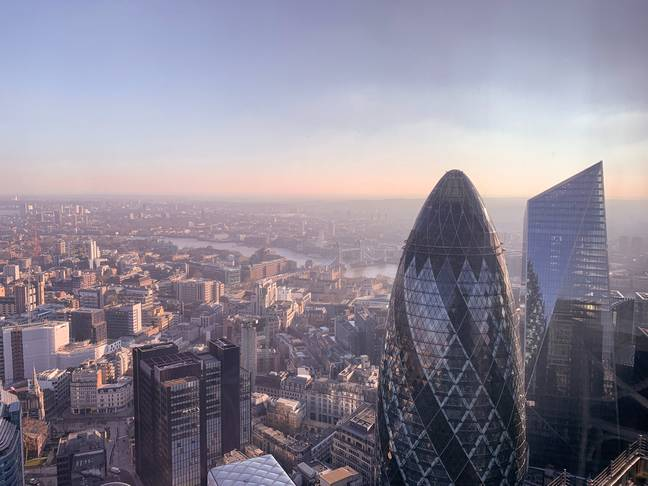 London. (Credit: Unsplash/alevision.co)