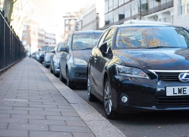 It has been illegal to park on the pavement in London since 1974. Credit: PA