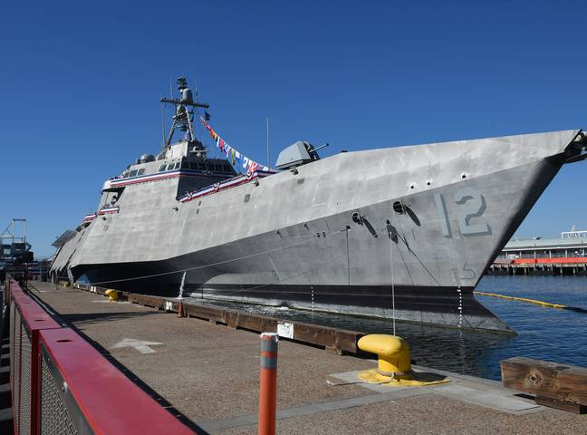 The USS Omaha, where the footage was reportedly filmed. Credit: US Navy