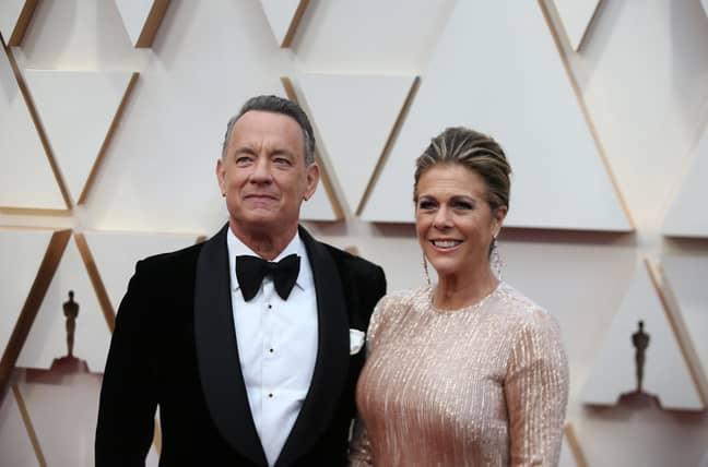 Hanks and wife Rita Wilson recently contracted and beat coronavirus. Credit: PA