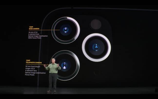 iPhone Pro. Credit: YouTube