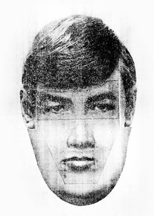 The e-fit of the kidnapper. Credit: PA