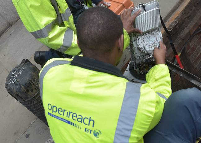 Openreach can't force ISPs to pass on the savings. Credit: PA
