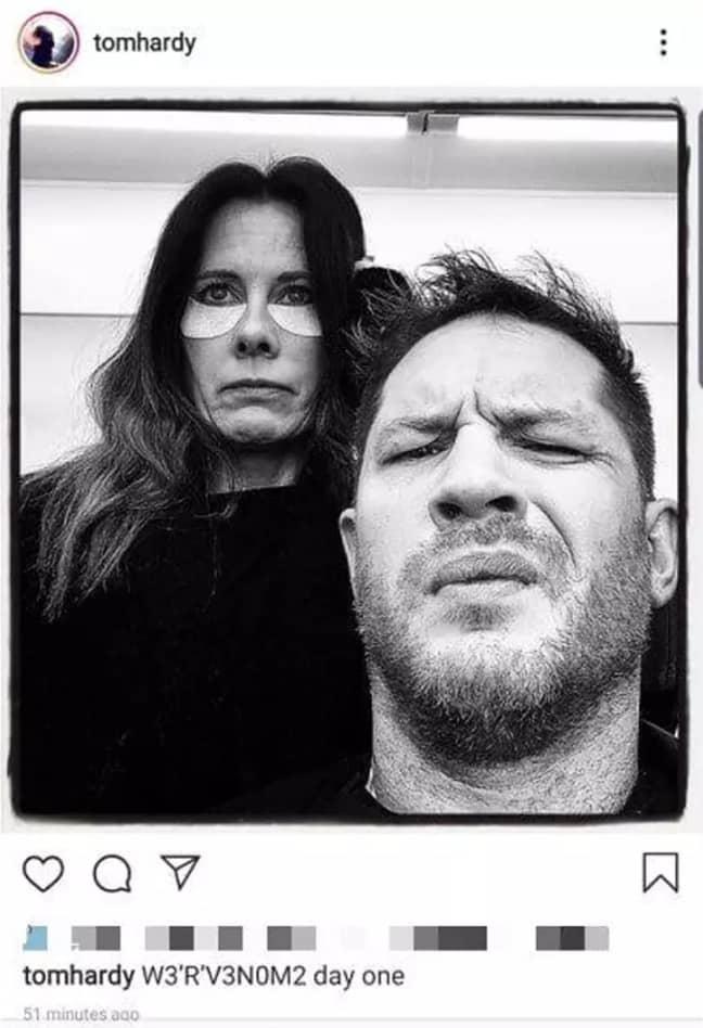 Credit: Tom Hardy/Instagram