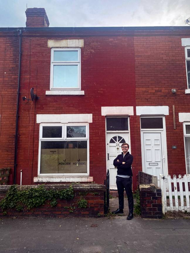 Josh had bought two houses by the age of 21. Credit: SWNS