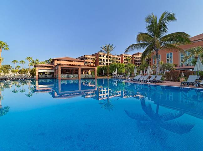 The resort is said to be hugely popular with British tourists. Credit: h10hotels