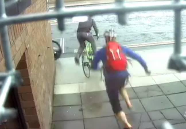 Tracking down a bike thief