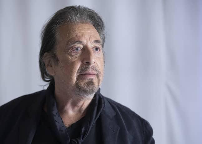 Al Pacino stars alongside Robert De Niro in The Irishman. Credit: PA