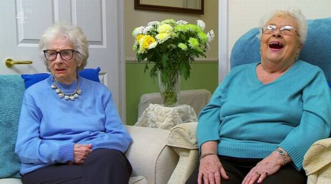 The Gogglebox stars couldn't quite believe it. Credit: Channel 4