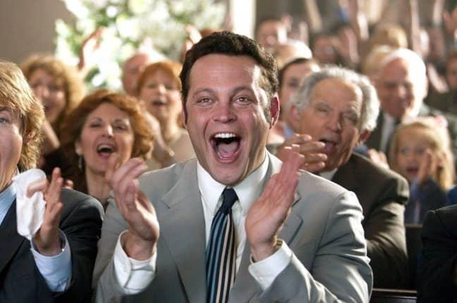 Vaughn in Wedding Crashers. Credit: New Line Cinema