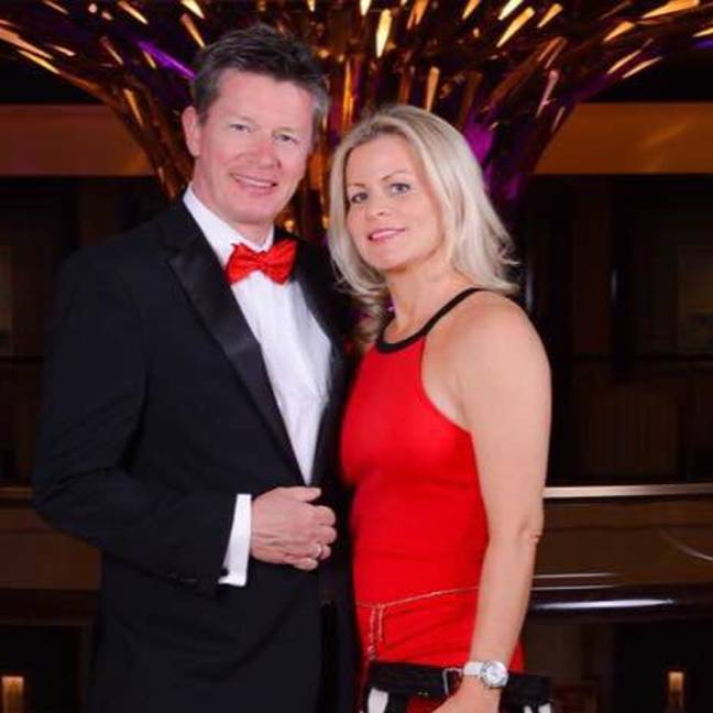 Mr Mason, pictured with new wife Emma, launched a paternity fraud case against his ex and was given back £250,000 of their 2008 divorce settlement. Credit: Facebook/Richard Mason