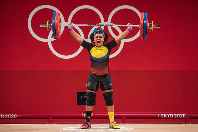 Hubbard will compete in the women's super heavyweight category. Credit: PA