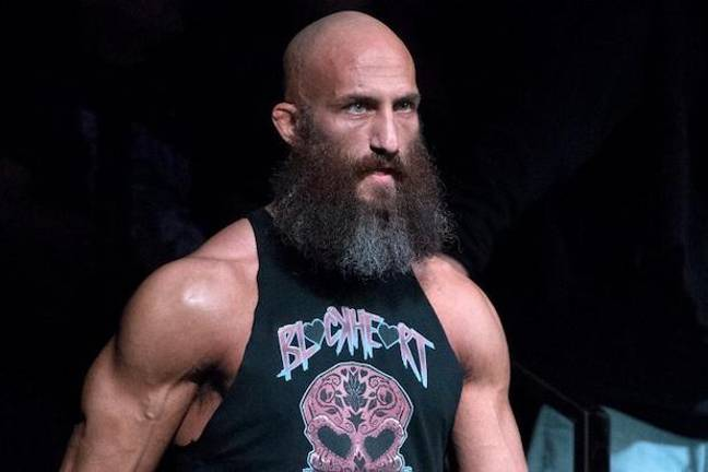 Tommaso Ciampa, WWE NXT Champion. Credit: WWE