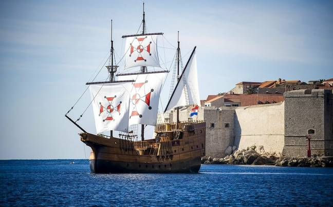 You can even go on a boat tour in Dubrovnik. Credit: StagWeb