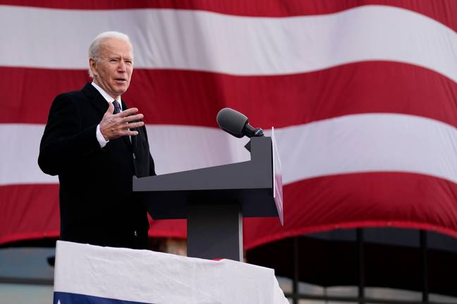 Joe Biden has been sworn in as the 46th President of the United States. Credit: PA