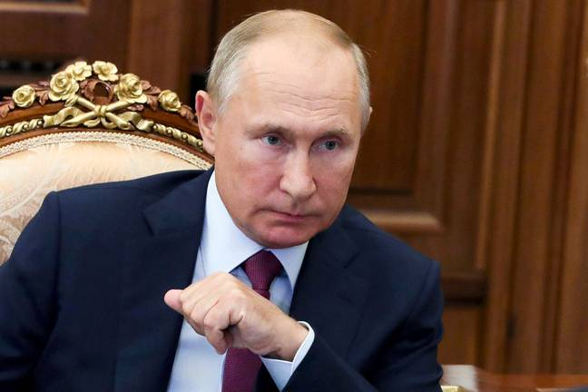 Putin has been nominated for the Nobel Peace Prize. Credit: PA