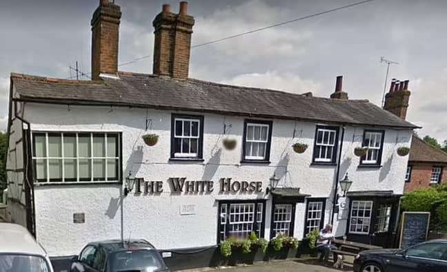 The groom's family ran the pub. Credit: Champion News