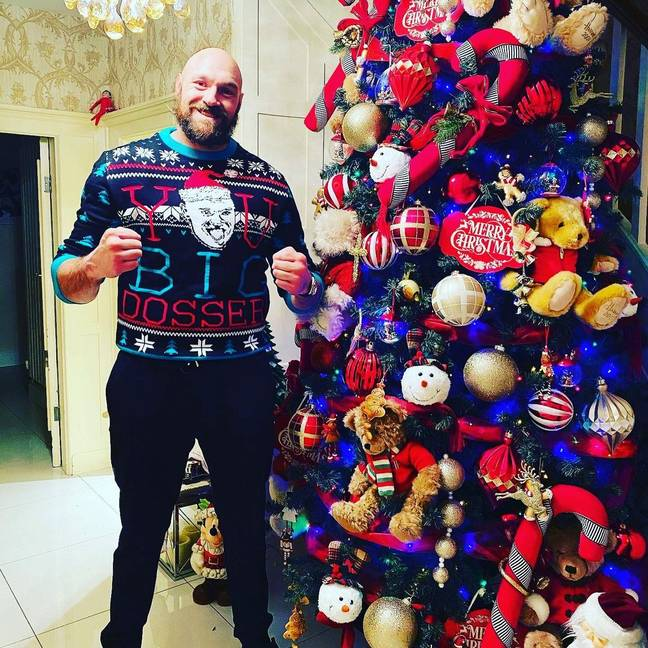 Credit: Instagram/Tyson Fury